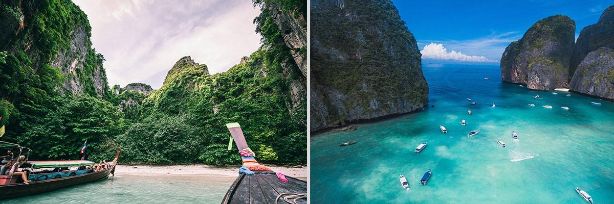 PHI PHI ISLAND เกาะพีพี