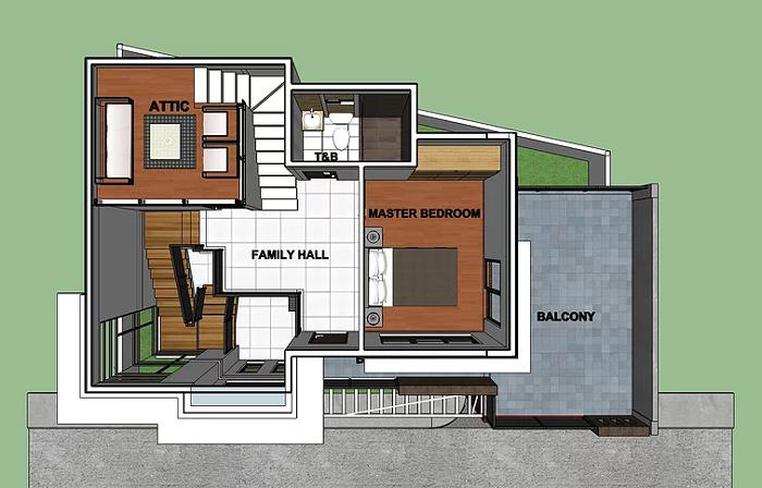 แบบบ้าน 2 ชั้น