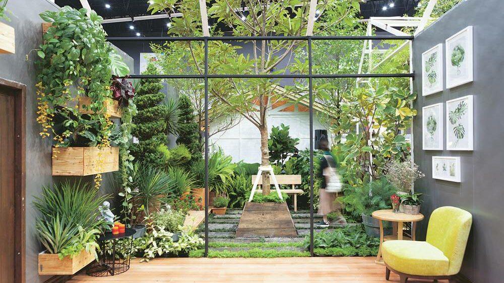 สวนในตัวบ้าน