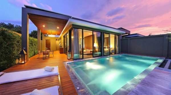 pool villa น่าพัก