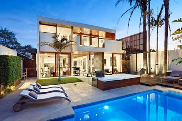 luxury house with private pool