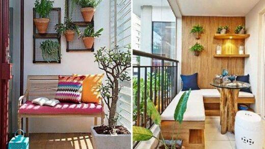 decorate the balcony of the condo