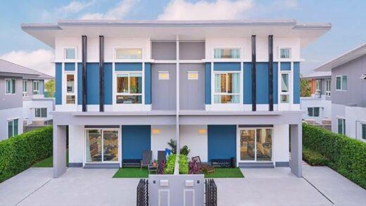 beautiful twin house