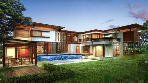 style luxury house