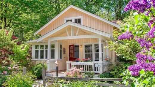 Interesting European style house